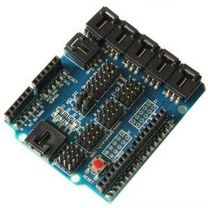 Senzorový shield pro Arduino UNO, MEGA Duemilanove
