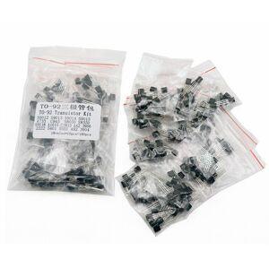 Sada tranzistorů PNP/NPN TO-92 180 kusů