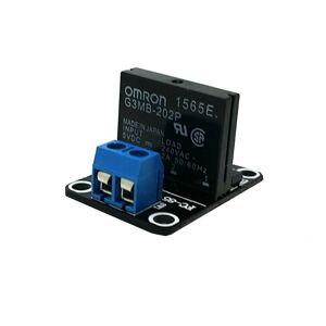 SSR Relé Modul 1 kanál 5VDC-250VAC OMRON G3MB-202P Solid State pro Arduino