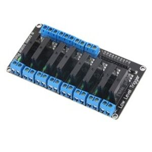 SSR Relé Modul 8 kanálů OMRON G3MB-202P Solid State pro Arduino