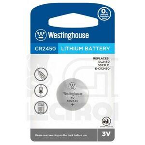Lithiová knoflíková baterie Westinghouse CR2450 (DL2450, 5029LC, E-CR2450) 3V