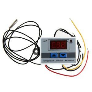 12V Digitální termostat 10A Nástěnný XH-W3001 -50°C až 110°C