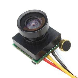 Mini PAL kamera 600TVL FPV s širokoúhlým objektivem 1.8 mm 1/3