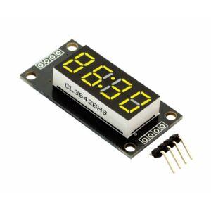 """Hodinový LED displej 0.56"""" TM1637 - žlutý"""