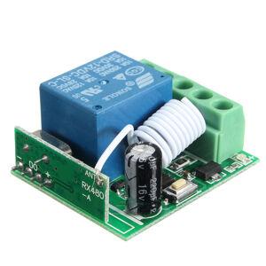 433MHz relé 1 kanál DC12V10A na dálkové ovládání