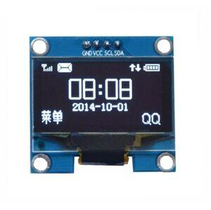 "IIC I2C OLED LCD 1,3"" displej 128x64 Bílý"