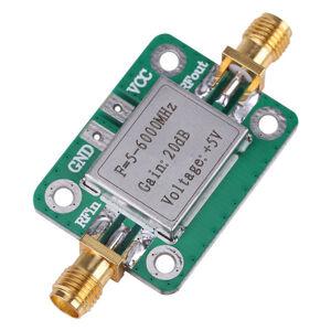 Širokopásmový zesilovač RF 20 dB LNA 5-6000MHz