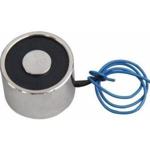 Elektromagnet s permanentním magnetem DC12V 1kg / 10N - 12x12mm