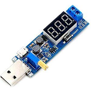 USB Step-down modul regulátoru napětí 5V na 3,3V 9V 12V 24V